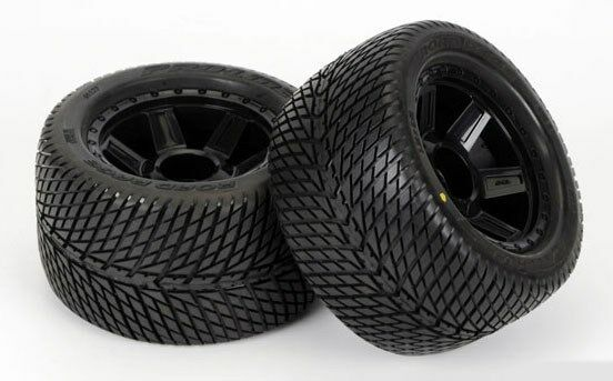"Premise 75 Vs I Maxx Pro: Pro-Line Road Rage 3.8"" Tires Desperado 1/2"" Offset Wheels"