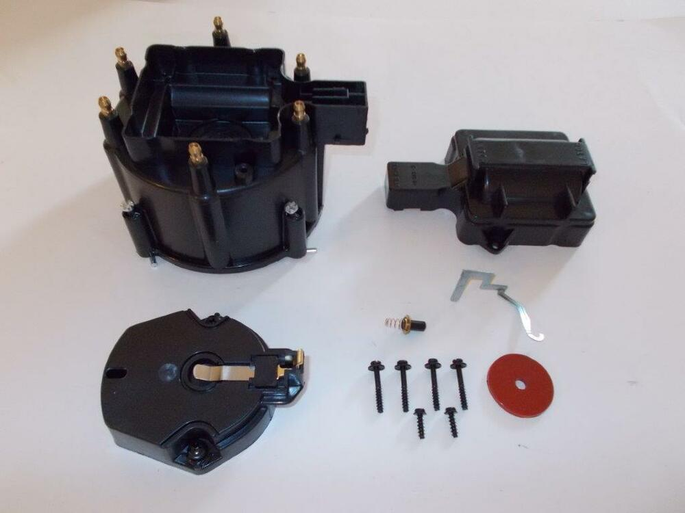 6 Cylinder Hei Distributor Cap  Coil Cover  U0026 Rotor Kit
