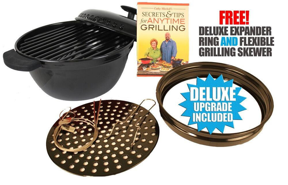New minden anytime grill for use with gas electric stove