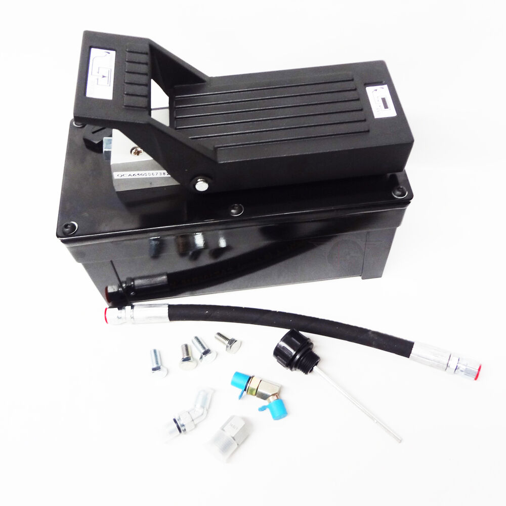 Hydraulic Lift Accessories : Oem rolling jack pump air over hydraulic rotary lift