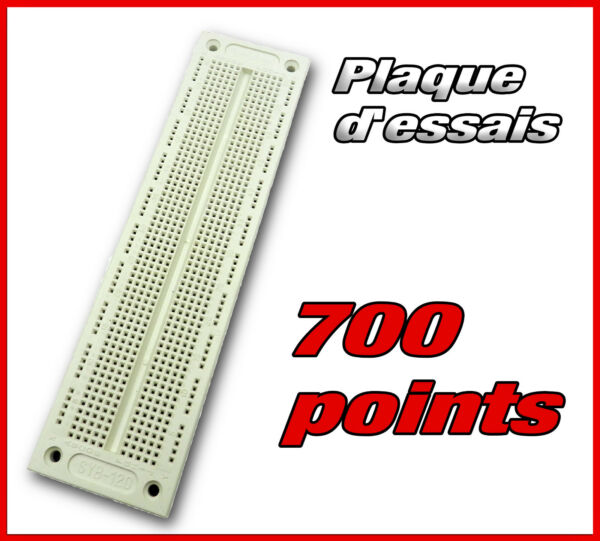 plaque d'essais 700 points prototype  -- breadboard PCB arduino
