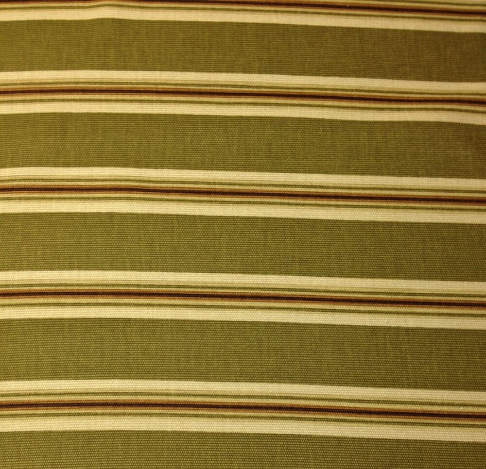 richloom john wolf olive green brown stripe upholstery fabric by the yard 54w ebay
