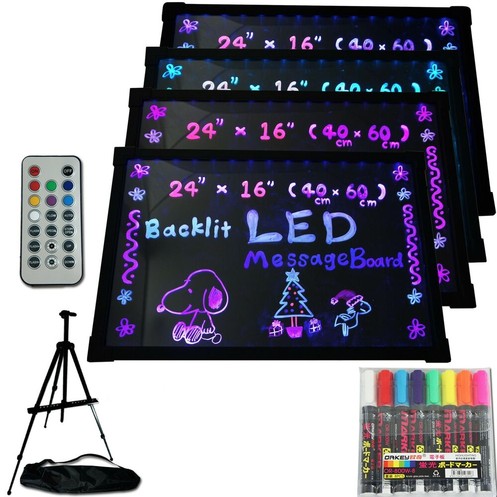 Led Menu Board 24 Quot X 16 Quot Message Sign Display Dry Erase