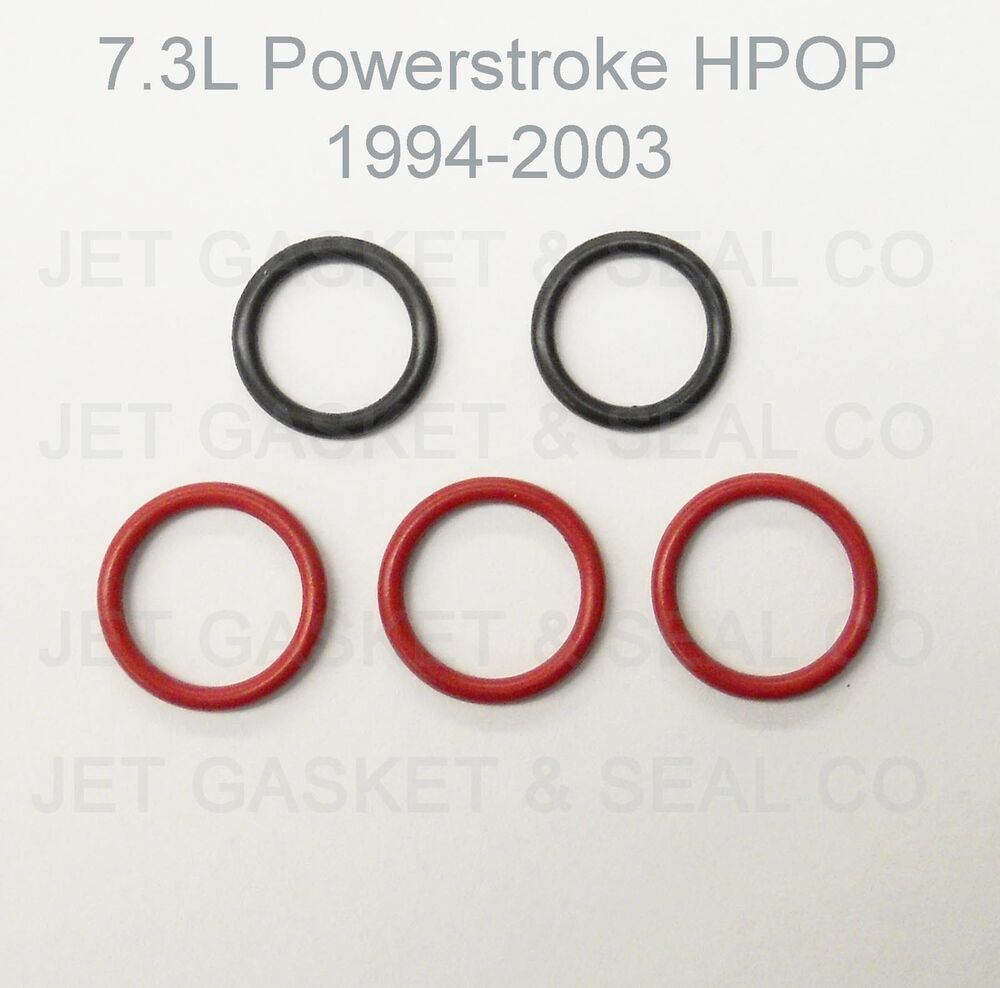 High Pressure Oil Seal : Powerstroke hpop o ring kit l high pressure oil pump