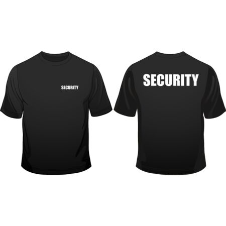 img-Security Staff Door Man Club In All Sizes Crew Neck Men Loose Fit Cotton T-Shirt