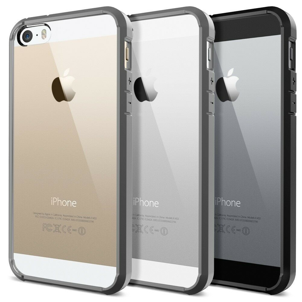 phone cases for iphone 5s spigen ultra hybrid for iphone se 5s 5 ebay 17901