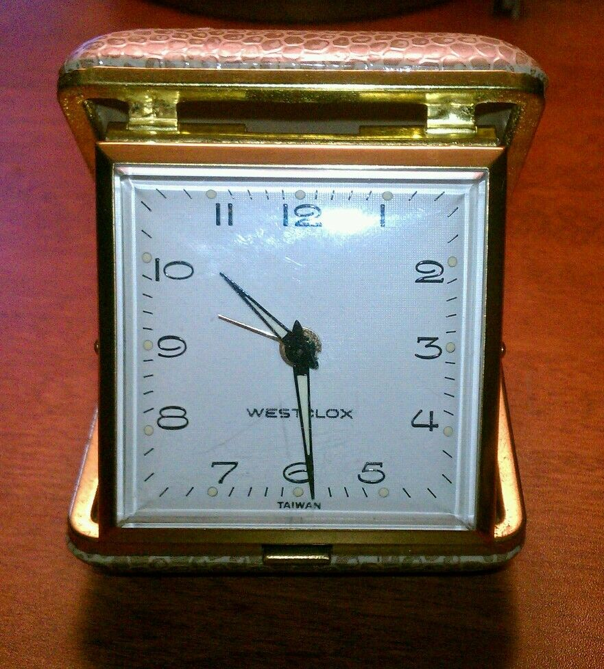 Vintage Travel Clocks 5