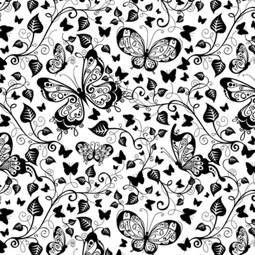 butterflies cover a card background unmounted rubber stamp