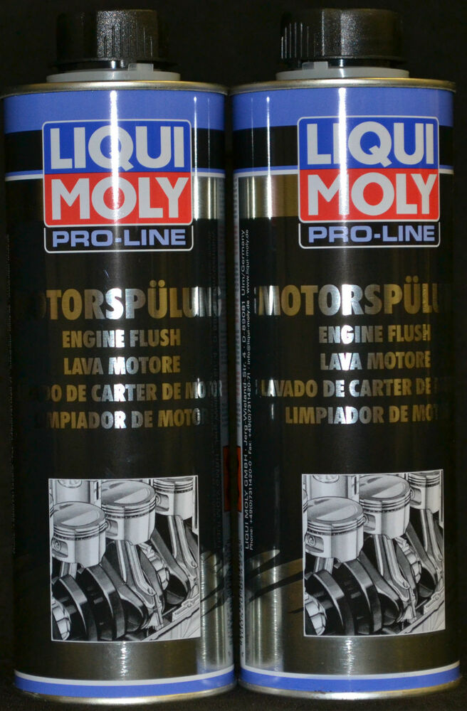 2x500 ml liqui moly pro line motorsp lung motorreiniger. Black Bedroom Furniture Sets. Home Design Ideas