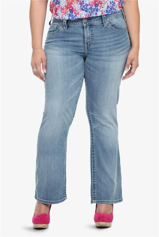 Silver Suki Light Wash Bootcut Jeans Torrid Sizes 14 16