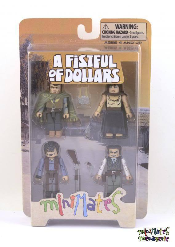 Spaghetti Western Clint Eastwood Minimates Fistful of Dollars Man with No Name
