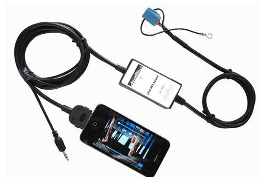 ipod iphone interface adapter audi a3 8l 8p a4 b6 b7 b8 ebay. Black Bedroom Furniture Sets. Home Design Ideas