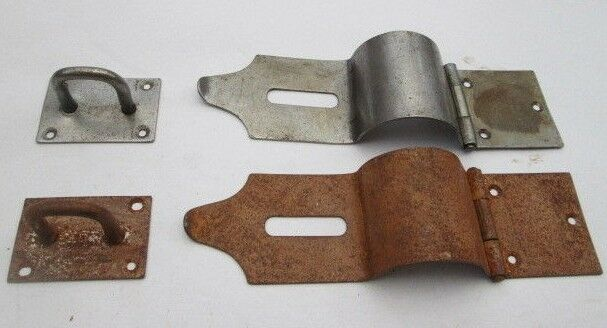 Safety Hasp And Staple Latch Lock For Blanket Box Chest