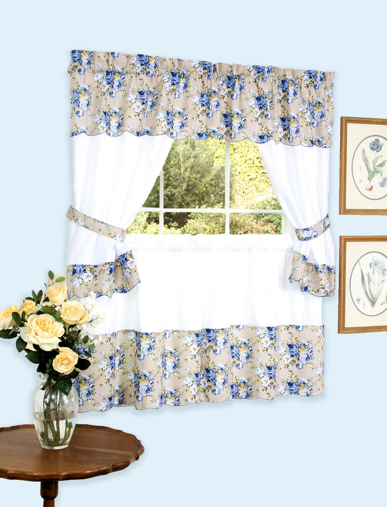 Bristol™ Complete Kitchen Curtain Set By Achim Importing Co ...