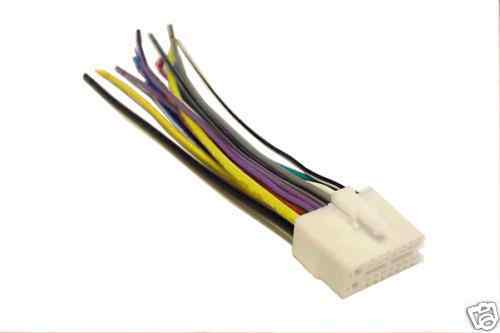 clarion wiring harness car stereo 16 pin wire connector ebay. Black Bedroom Furniture Sets. Home Design Ideas