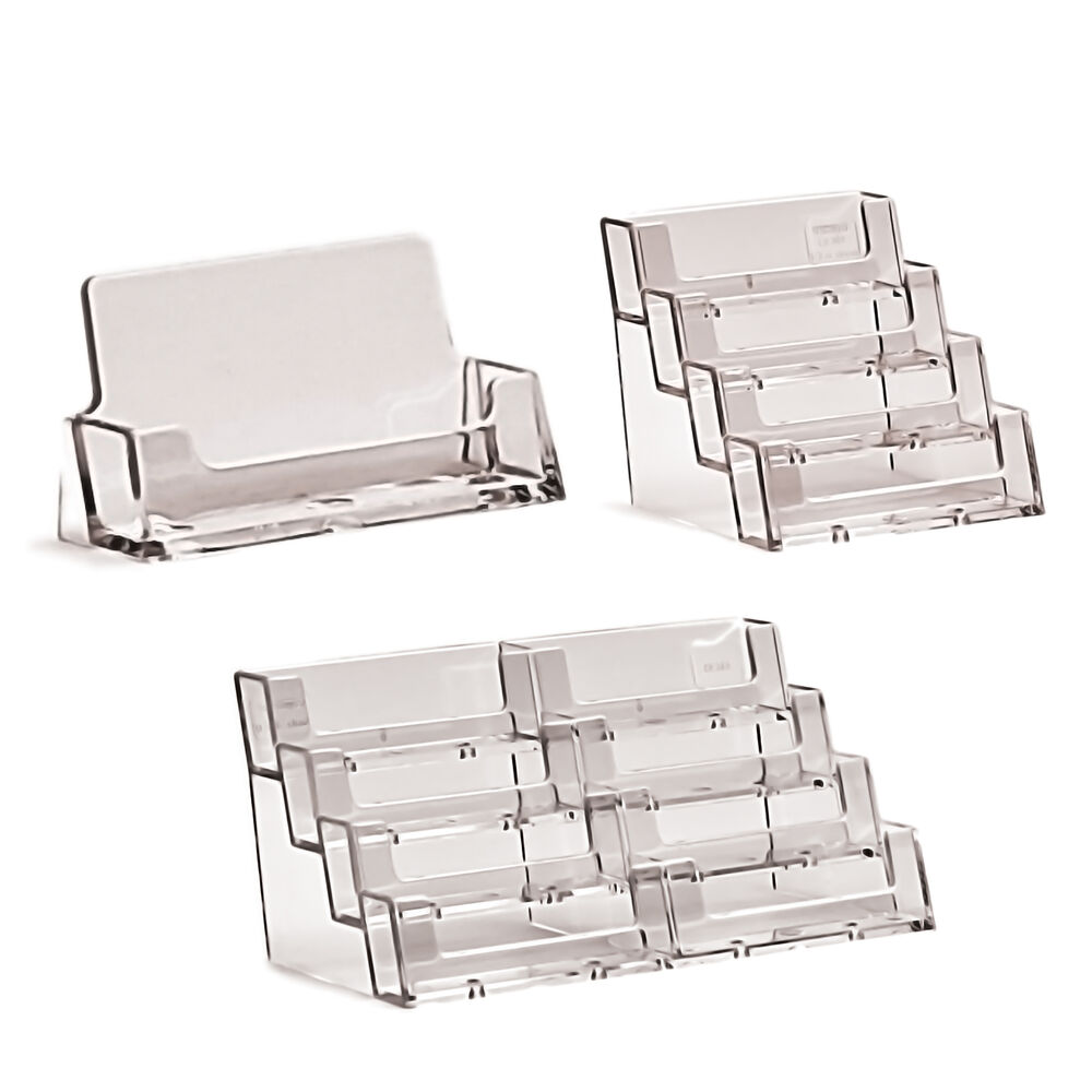 Business card dispenser ebay business card holders acrylic display stand retail counter wall dispensers magicingreecefo Images