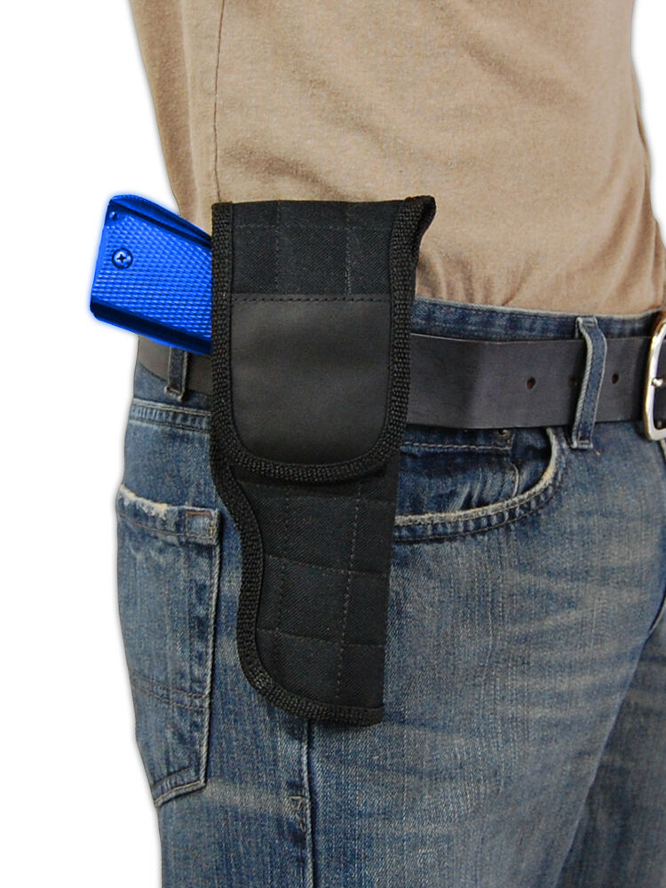 Barsony OWB Belt Flap Gun Holster for Browning, Colt Full ...