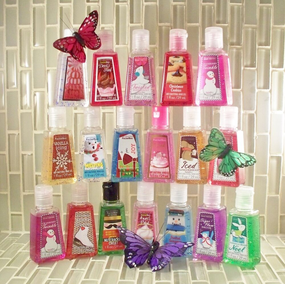 Bath body works pocket bac pocketbac ebay for Bathroom body works