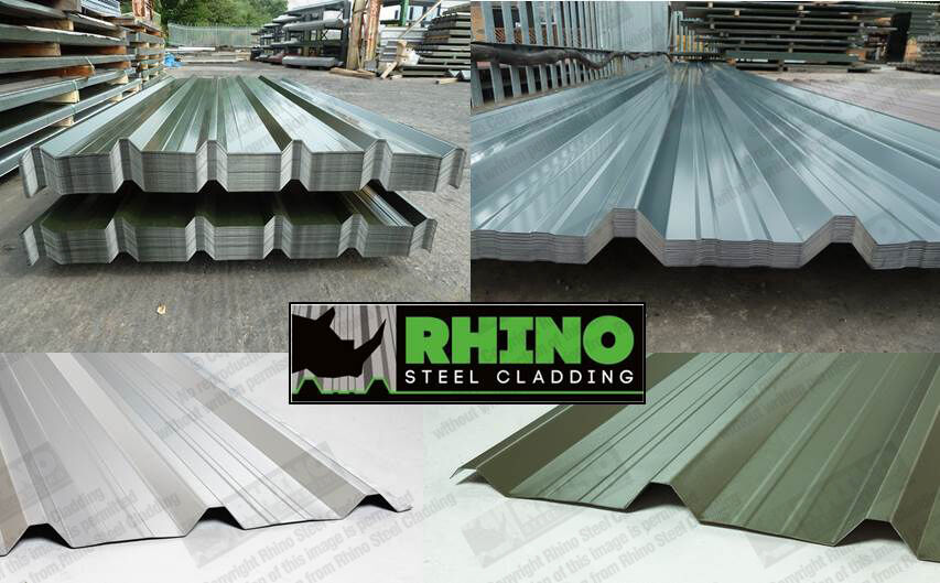 Aluminium Cladding Up Box : Box profile roofing wall cladding sheets for industrial