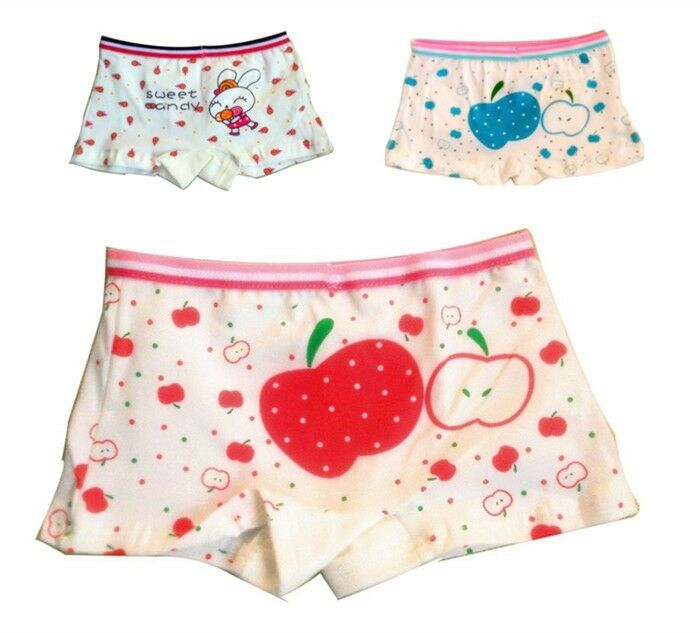 New Lovely Baby Girls Children Kids boxer briefs Underwear ...