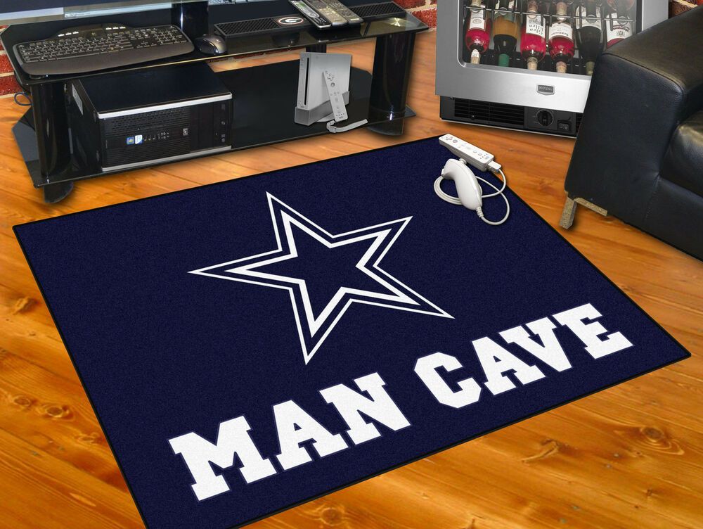 Dallas Cowboys Man Cave 34 Quot X43 Quot All Star Area Rug Mat Ebay