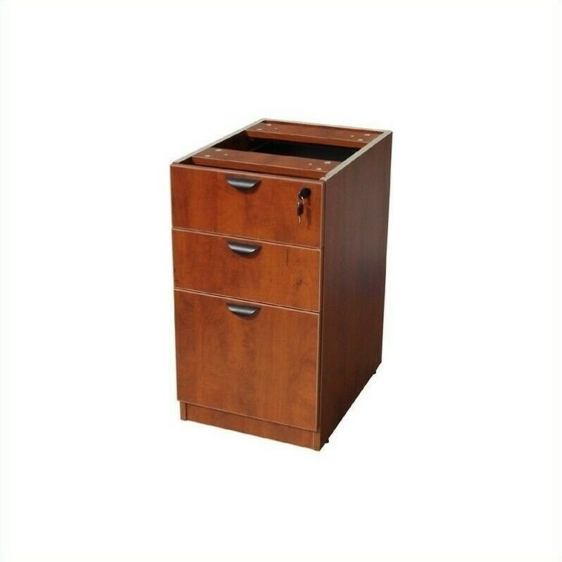 Filing Cabinet File Storage 3 Drawer Lateral Wood Locking