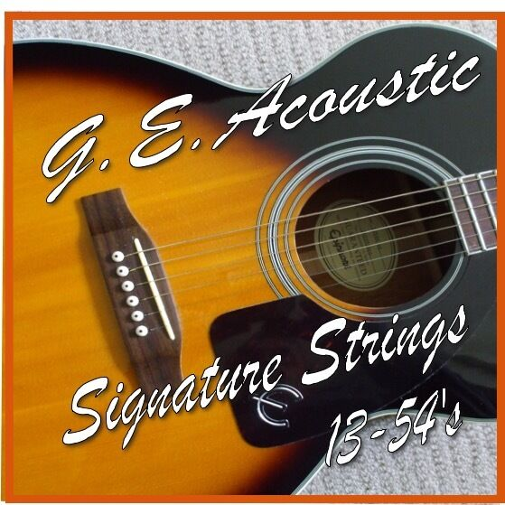 acoustic guitar strings 13 54 39 s medium gauge phosphor bronze wound steel strings ebay. Black Bedroom Furniture Sets. Home Design Ideas