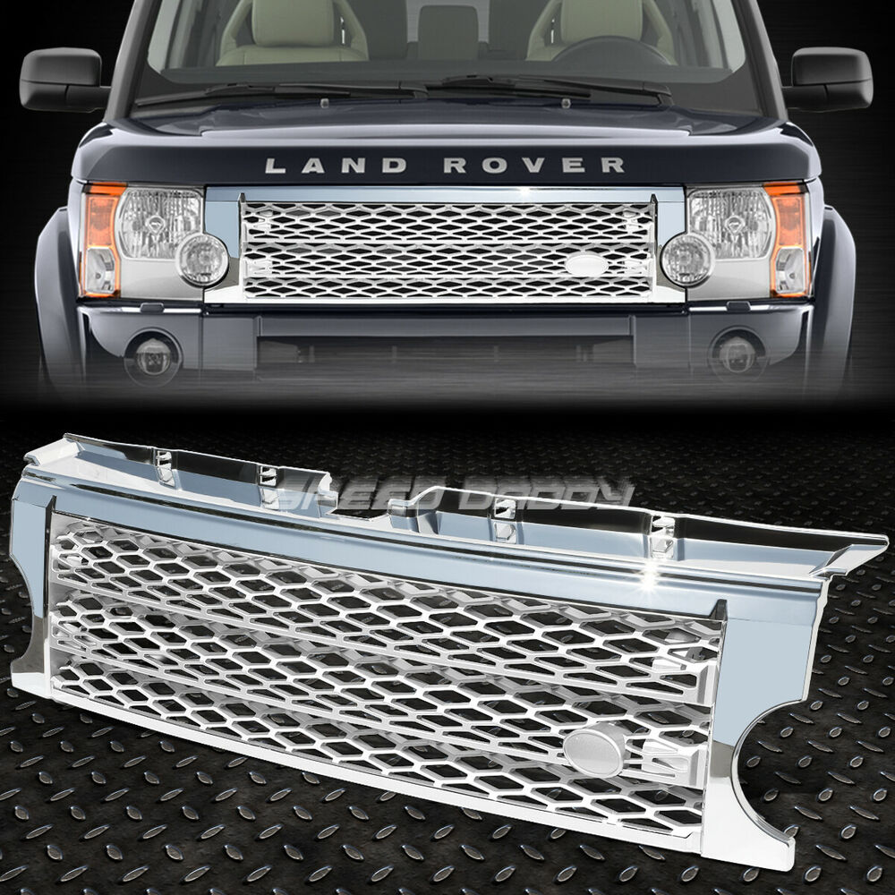 mesh front bumper abs grill grille frame 05 09 land rover. Black Bedroom Furniture Sets. Home Design Ideas