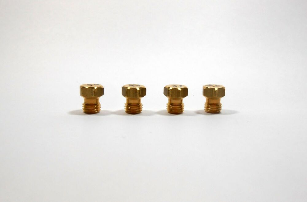 LPG gas jet / nozzle set (4pcs) for hob, cooker, range ...