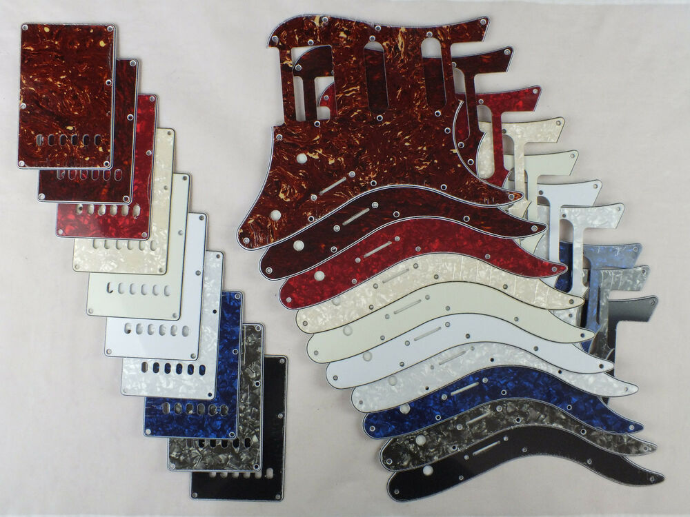 Scratch plate hss pickguard set for yamaha pacifica for Yamaha pacifica 112 replacement parts