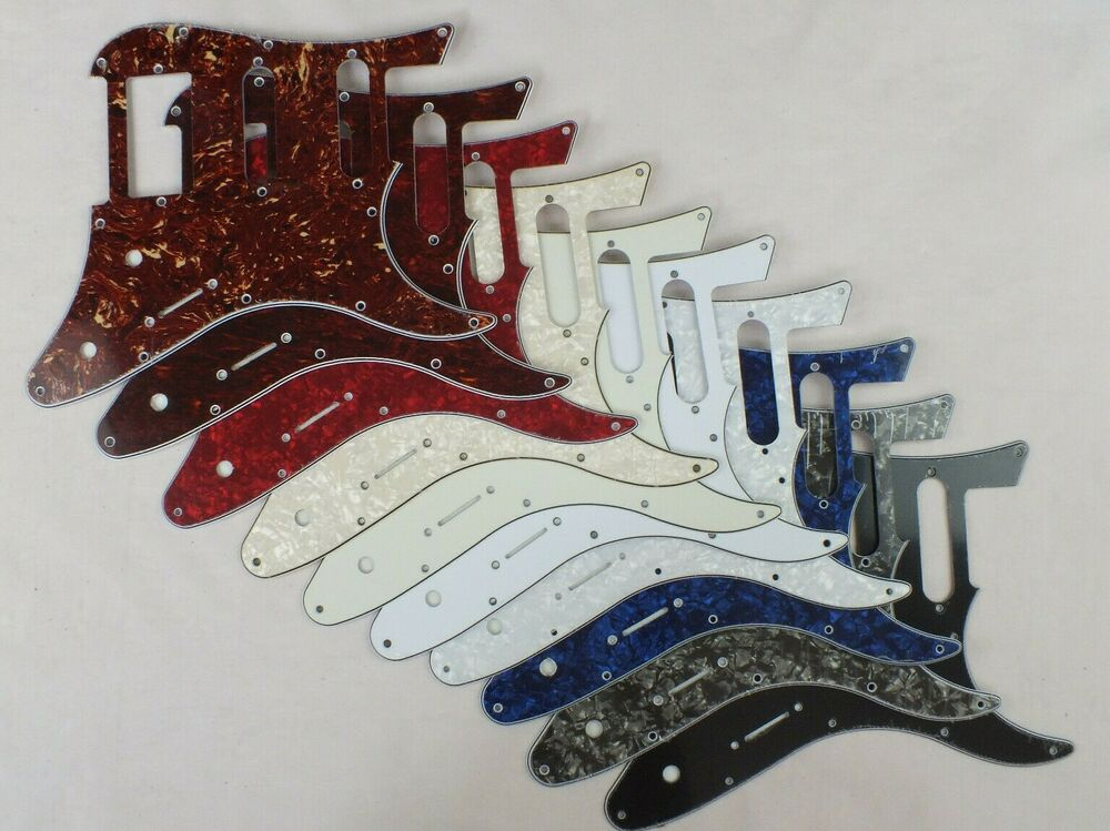 scratch plate hss pickguard to fit yamaha pacifica electric guitar 10 colours ebay. Black Bedroom Furniture Sets. Home Design Ideas