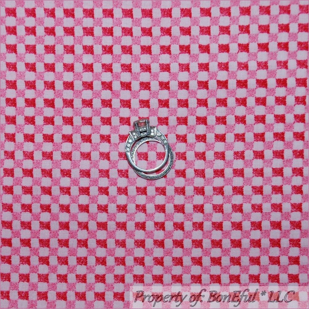 Boneful fabric fq cotton quilt pink baby girl block for Baby girl fabric