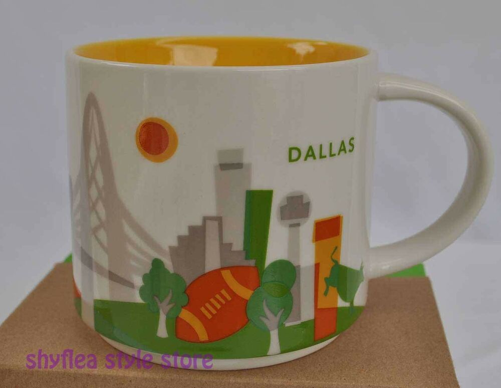 Missed to add another city for Texas – Starbucks Been There San Antonio mug. This is the fifth BT mug from this series for this State (including BT Texas). And this is expected, since Texas is the second largest State in the US by both area and population.