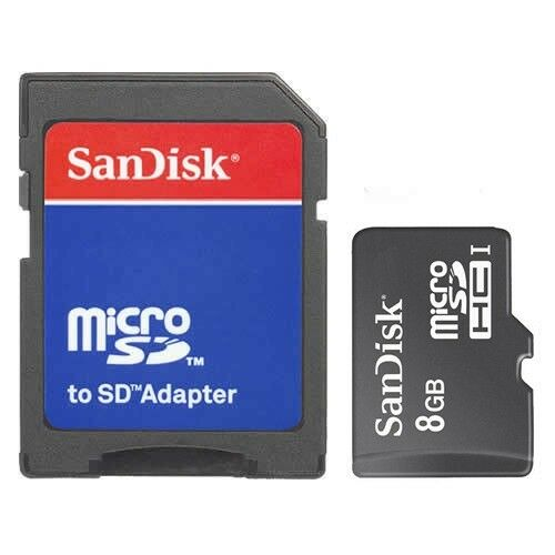 brand new sandisk class 4 8gb micro sd micro sdhc tf flash. Black Bedroom Furniture Sets. Home Design Ideas