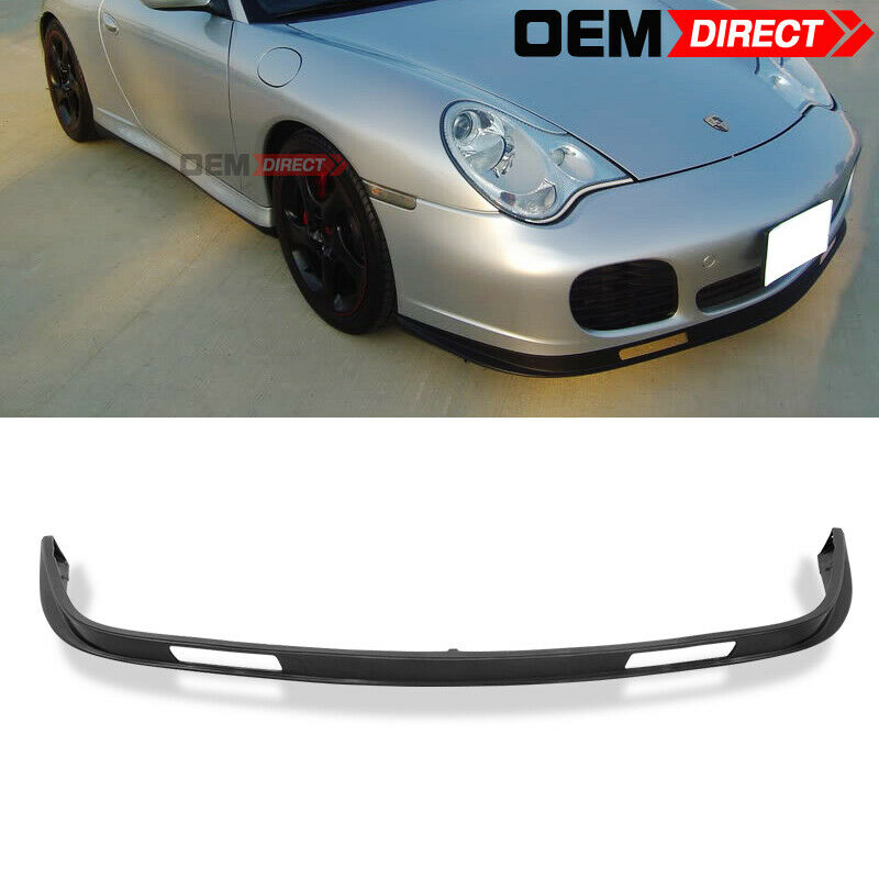 for porsche 996 911 4s coupe turbo carrera front bumper lip spoiler ebay. Black Bedroom Furniture Sets. Home Design Ideas