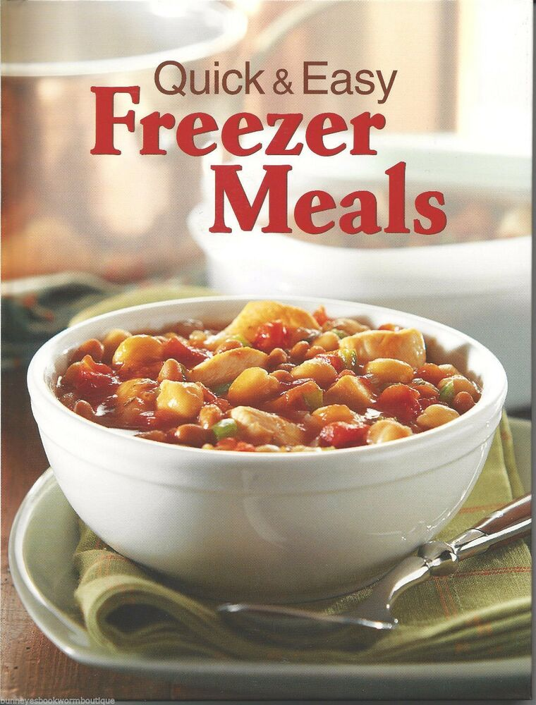 Quick Easy Makeup Tips Ideas For Work: QUICK & EASY FREEZER MEALS New COOKBOOK Recipes FREEZE