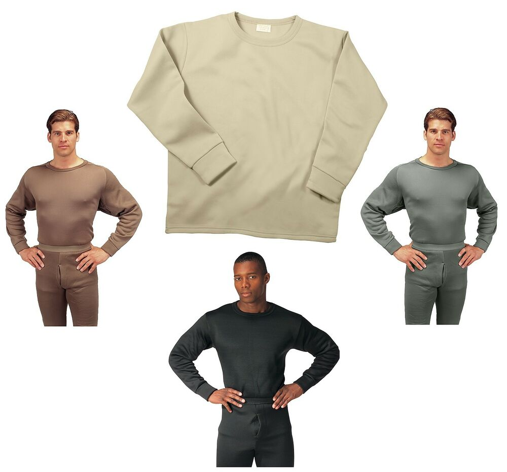 Extreme Cold Weather Underwear Long John Crew Neck ECWCS ...