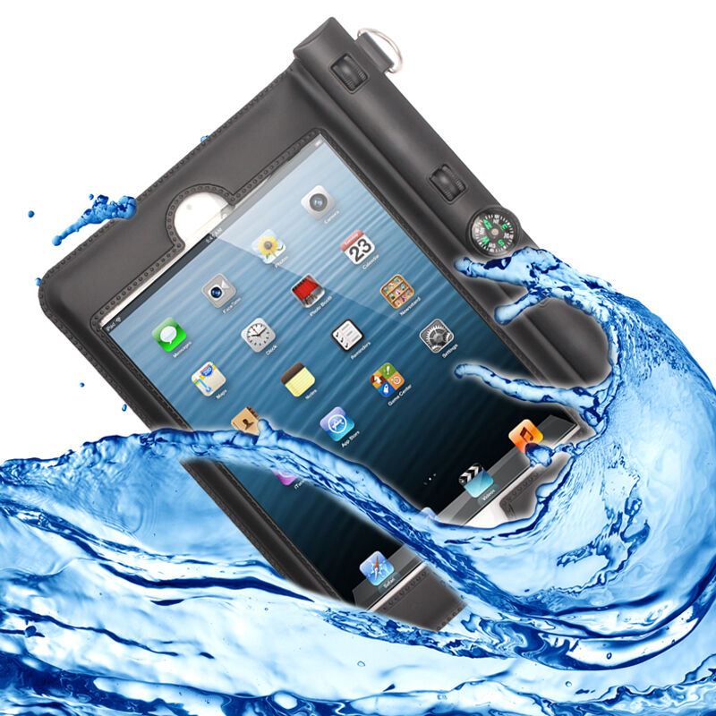 ipad mini 1 2 3 case schutz h lle tasche wasserdicht staubdicht waterproof ebay. Black Bedroom Furniture Sets. Home Design Ideas