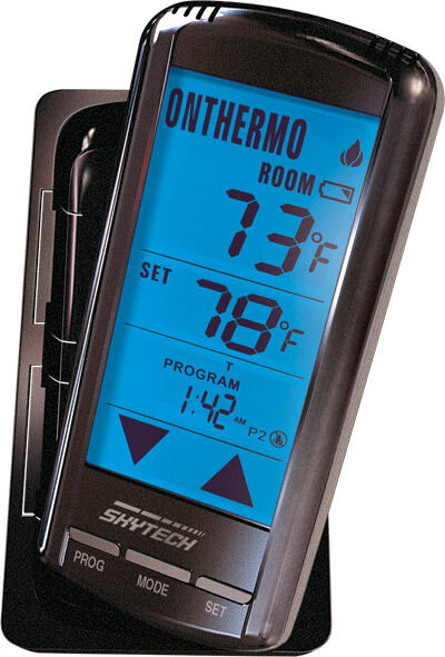 Skytech 5301p Thermostat Fireplace Remote Control For Gas Fireplace Touch Screen Ebay