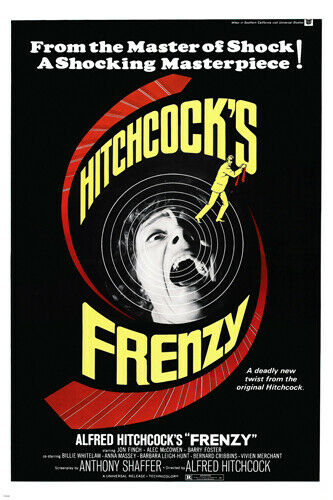 alfred hitchcocks frenzy movie poster jon finch suspense