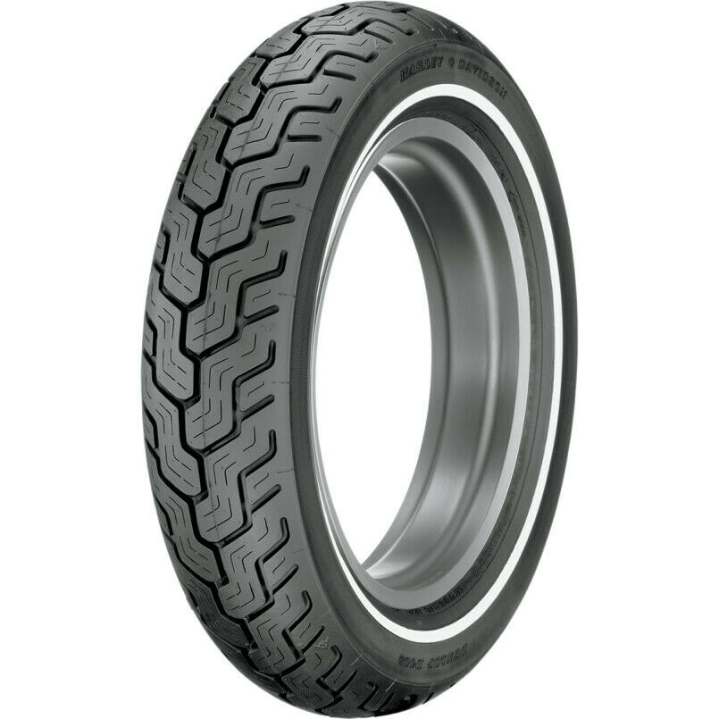 Dunlop D402 Series Mt90b16 Slim White Wall Rear Motorcycle
