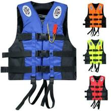 Life Jacket Vest Adult Fully Enclosed Water Sport Safty Swimwear