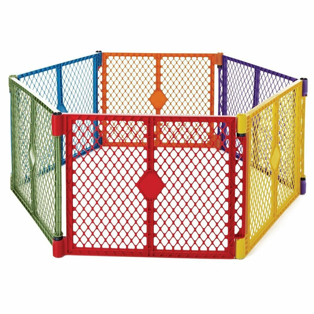 New North State Superyard Xt Baby Gate Play Yard Pet