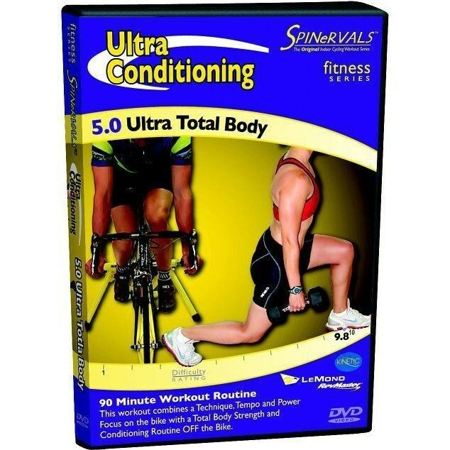 Zumba Fitness Live Dvd: Spinervals Ultra Conditioning 5.0 Ultra Total Body Workout