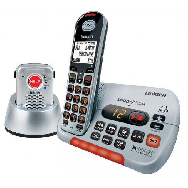 uniden sse35 pendant visual hearing impaired cordless