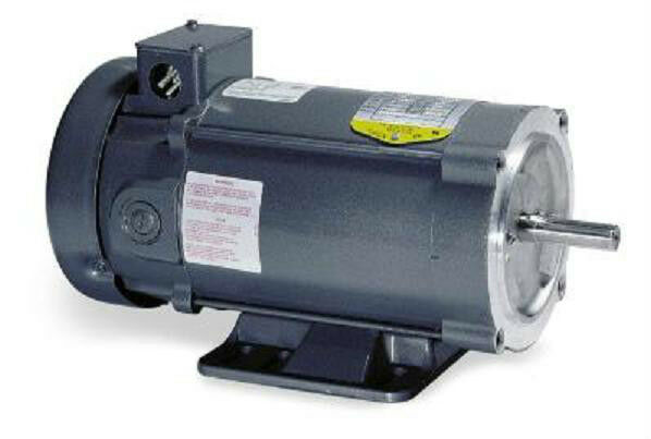 cd3451 5 hp 1750 rpm new baldor dc electric motor ebay