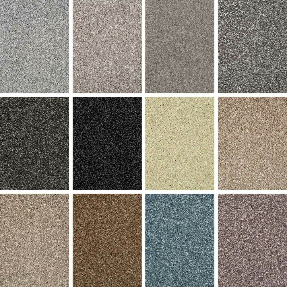 Quality saxony shag pile carpet stain resistant flecked for What is the best quality carpet