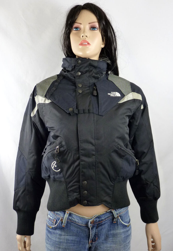 DOWN insulated WOMEN/'S TRENCH COAT THE NORTH FACE SUZANNE BLACK TRICLIMATE M