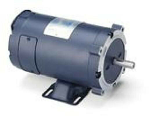 1 2 hp 1800 rpm new leeson electric motor for Leeson 1 2 hp dc motor