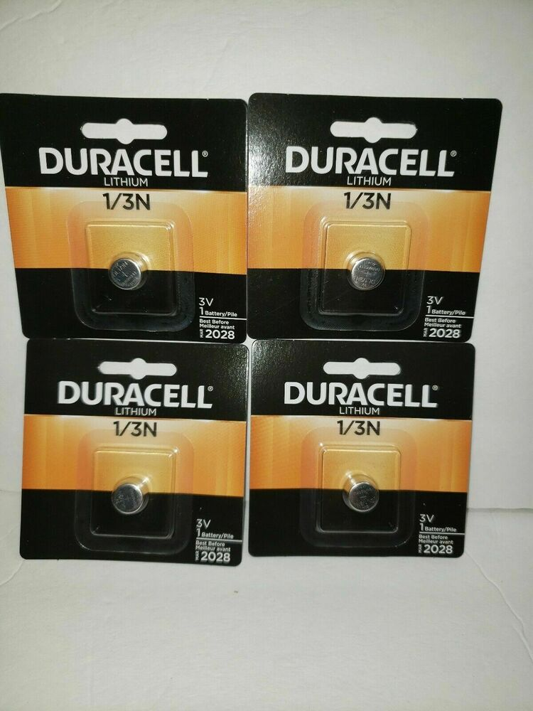 4 pcs genuine duracell 3v lithium battery 1 3n dl1 3n cr1. Black Bedroom Furniture Sets. Home Design Ideas